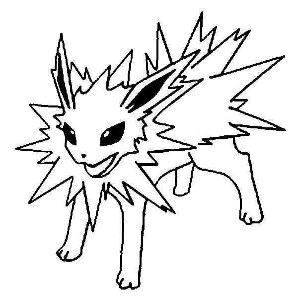 Coloriage Dessin Animé Pokémon Dessin Gratuit à Imprimer