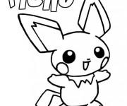 Coloriage Dessin Pokemon Pikachu étape par étape