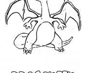 Coloriage Dragon Dracaufeu en ligne
