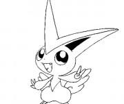 Coloriage Image de Pokémon facile