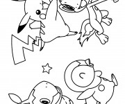 Coloriage dessin  Pokemon 10