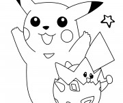 Coloriage dessin  Pokemon 17