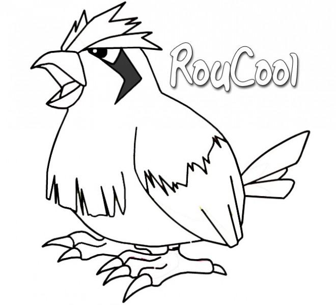 Coloriage et dessins gratuits Pokemon 92 à imprimer