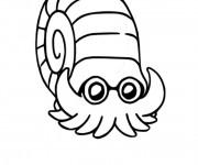 Coloriage Pokémon Amonita