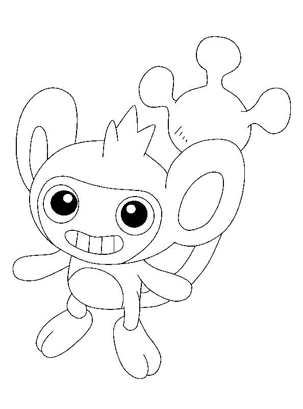 Coloriage et dessins gratuits Pokémon Capumain à imprimer