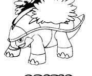 Coloriage Pokémon Crotle