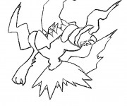 Coloriage Pokemon Darkirai