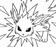 Coloriage Pokémon dessin d'attaque