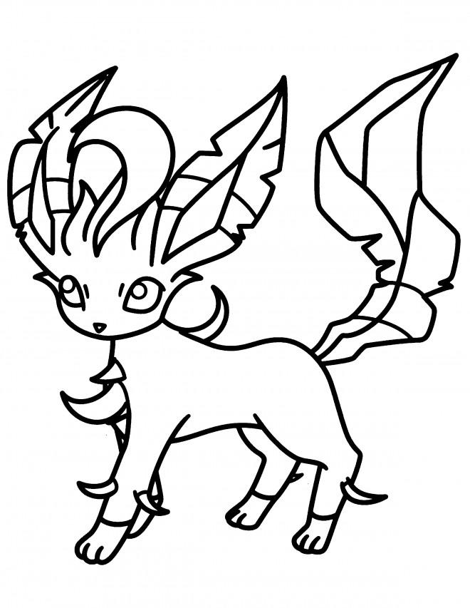 Coloriage Pokémon dessin pour enfant dessin gratuit à imprimer