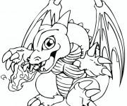 Coloriage Pokémon Dracaufeu bébé