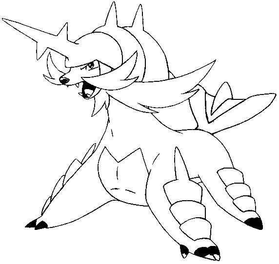 Coloriage et dessins gratuits Pokémon dragon à télécharger à imprimer