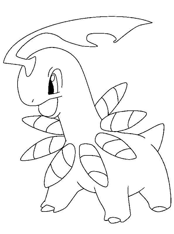 Coloriage et dessins gratuits Pokémon Dragon dessin animé à imprimer