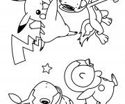 Coloriage Pokémon facile