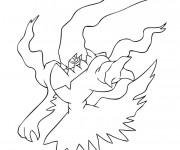 Coloriage Pokémon Ghost dessin