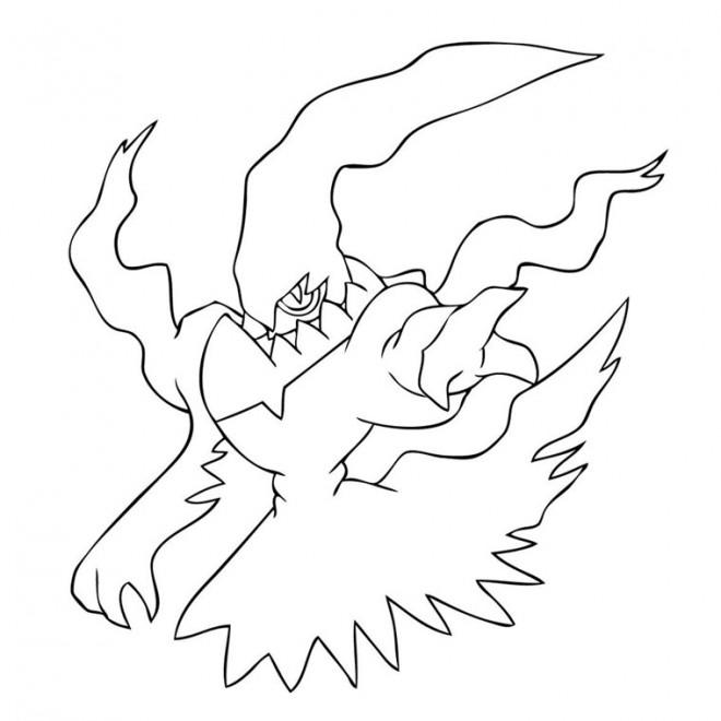 Coloriage et dessins gratuits Pokémon Ghost dessin à imprimer