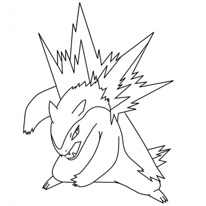 Coloriage et dessins gratuits Pokémon image pour enfant à imprimer
