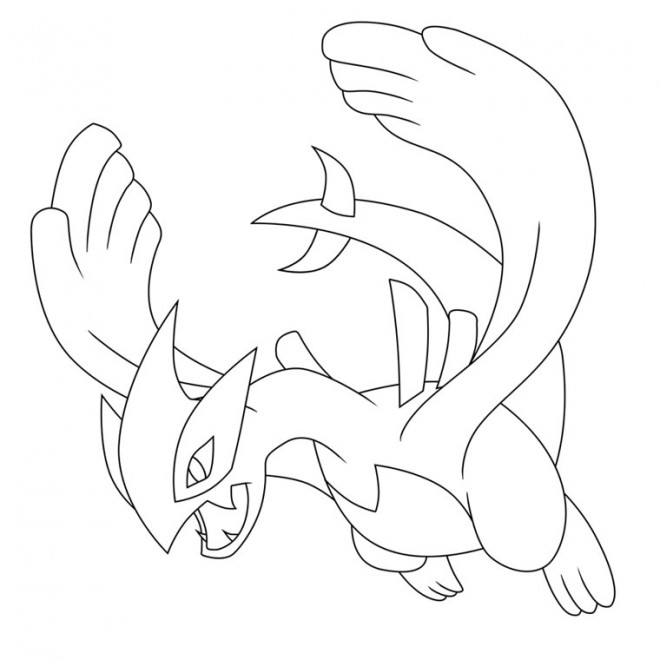Coloriage Pokemon Legendaire Telecharger