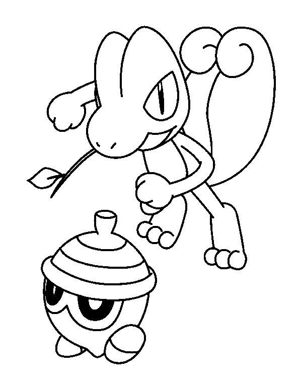 Coloriage pok mon l zard et son ami - Dessin pokemon facile ...