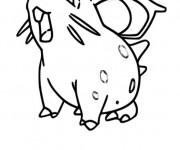 Coloriage Pokemon Nidoran en ligne