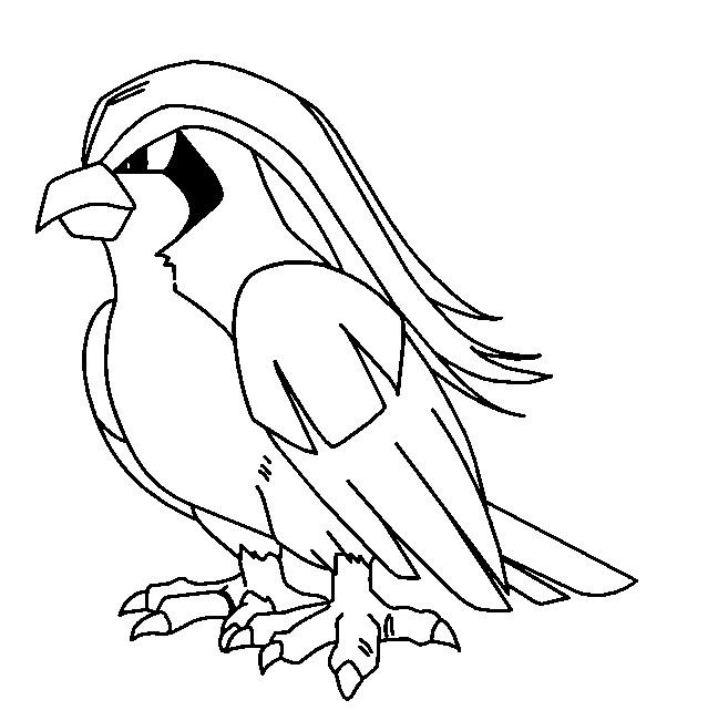 Coloriage et dessins gratuits Pokémon Pidgeotto à imprimer