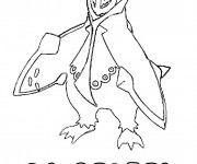 Coloriage Pokémon Pingoleon