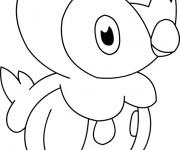 Coloriage Pokémon Pingoleon facile