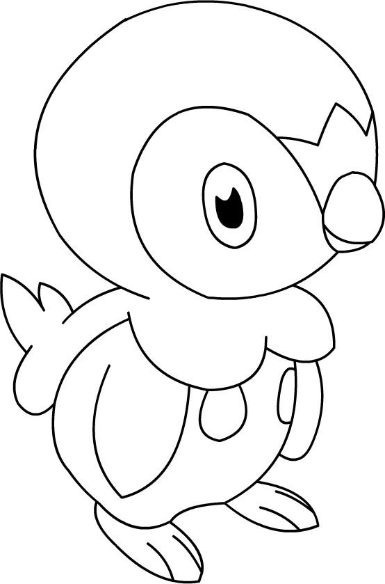 Coloriage Pokémon Pingoleon Facile Dessin Gratuit à Imprimer