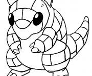 Coloriage Pokémon Sabelette