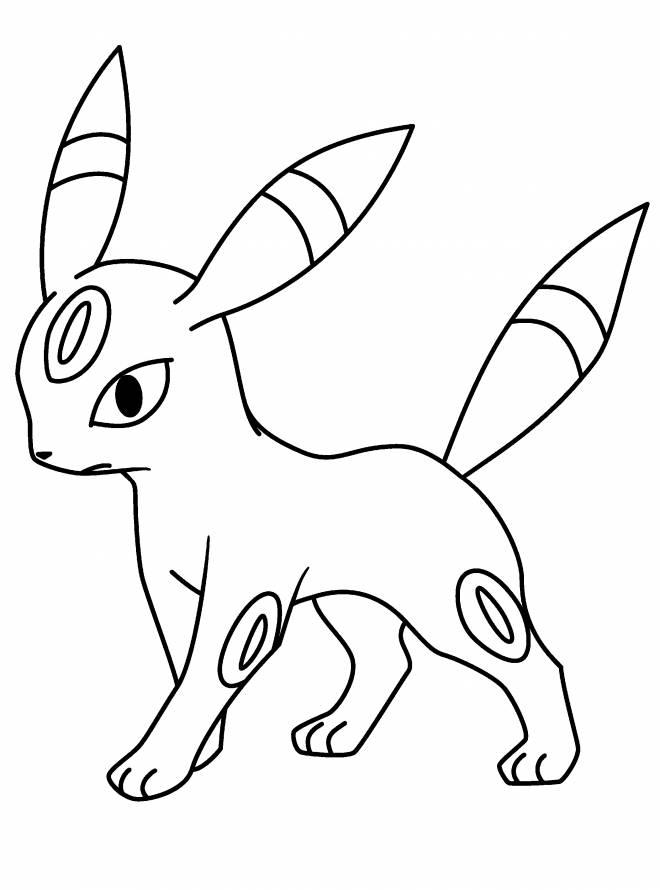 Coloriage et dessins gratuits Pokémonà colorier à imprimer