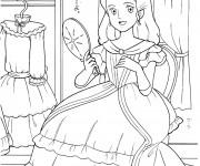 Coloriage et dessins gratuit Princesse Sarah 1 à imprimer