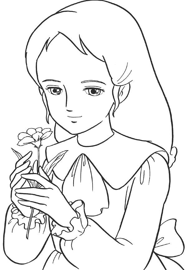 Coloriage et dessins gratuits Princesse Sarah 10 à imprimer