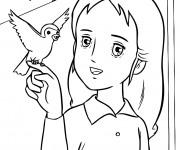 Coloriage et dessins gratuit Princesse Sarah 11 à imprimer