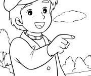 Coloriage et dessins gratuit Princesse Sarah 12 à imprimer