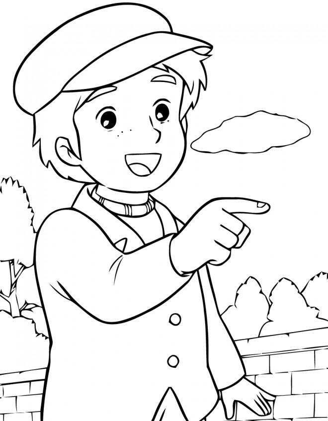 Coloriage et dessins gratuits Princesse Sarah 12 à imprimer