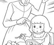 Coloriage et dessins gratuit Princesse Sarah 14 à imprimer