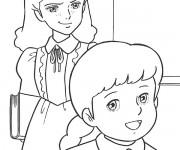 Coloriage et dessins gratuit Princesse Sarah 16 à imprimer