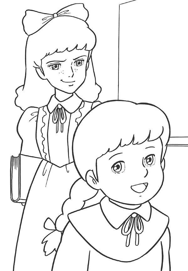 Coloriage et dessins gratuits Princesse Sarah 16 à imprimer
