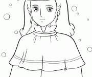 Coloriage et dessins gratuit Princesse Sarah 19 à imprimer