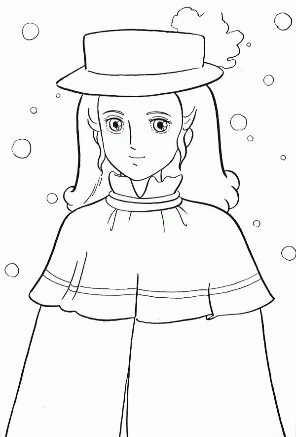 Coloriage et dessins gratuits Princesse Sarah 19 à imprimer