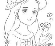 Coloriage et dessins gratuit Princesse Sarah 2 à imprimer