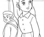 Coloriage et dessins gratuit Princesse Sarah 20 à imprimer