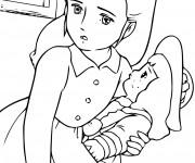 Coloriage et dessins gratuit Princesse Sarah 21 à imprimer