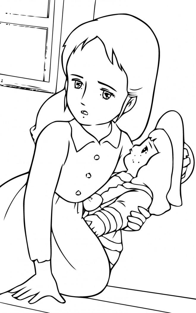 Coloriage et dessins gratuits Princesse Sarah 21 à imprimer