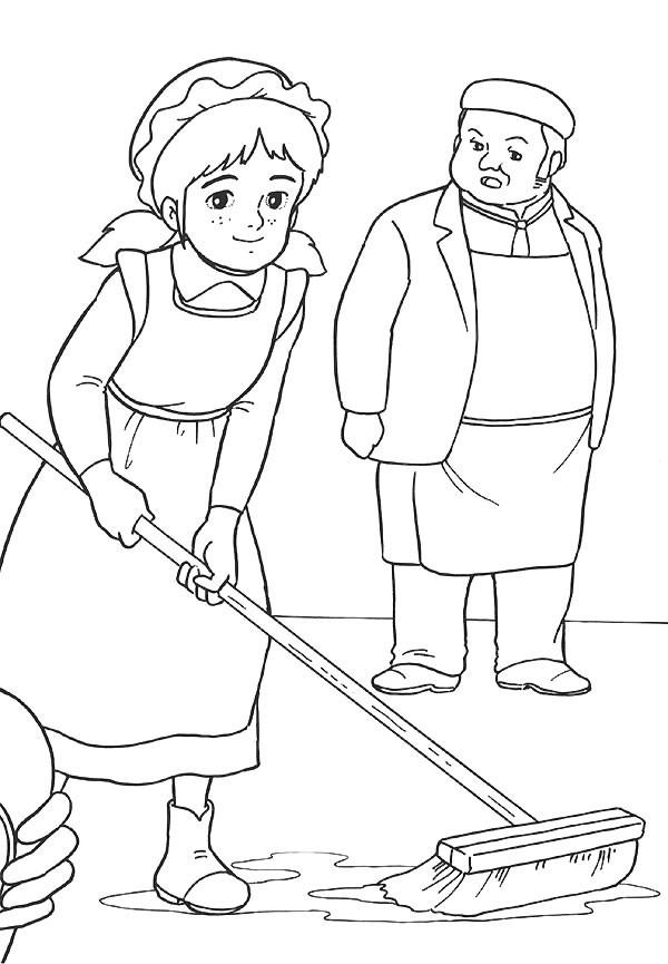 Coloriage et dessins gratuits Princesse Sarah 22 à imprimer