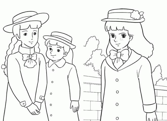 Coloriage et dessins gratuits Princesse Sarah 26 à imprimer