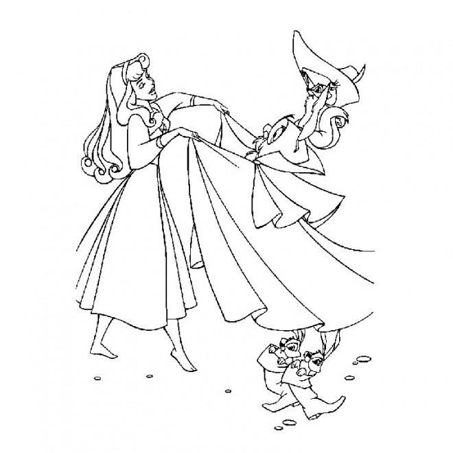 Coloriage et dessins gratuits Princesse Sarah 28 à imprimer