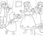 Coloriage et dessins gratuit Princesse Sarah 3 à imprimer