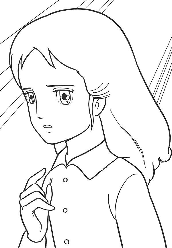 Coloriage et dessins gratuits Princesse Sarah 30 à imprimer