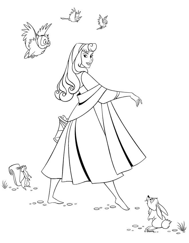 Coloriage et dessins gratuits Princesse Sarah 32 à imprimer