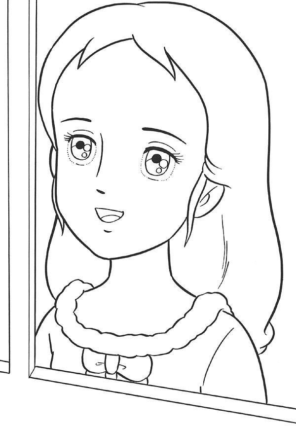 Coloriage et dessins gratuits Princesse Sarah 33 à imprimer
